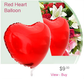 Balloon Red Heart