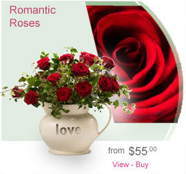 Romantic Roses 10 Stems