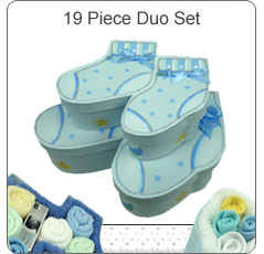 Beautiful Booties Duo Set ~ Blue