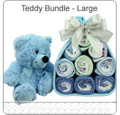 Teddy Bundle Large ~ Blue