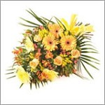 Gold Tied Funeral Sheaf