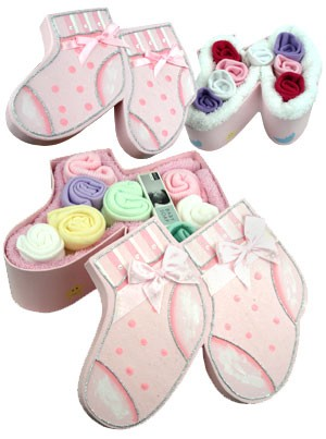 Beautiful Booties Duo Set ~ Pink
