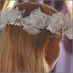 Tulle Hair Garland